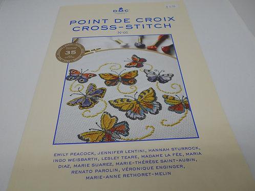 DMC Point De Croix Cross Stitch No 01