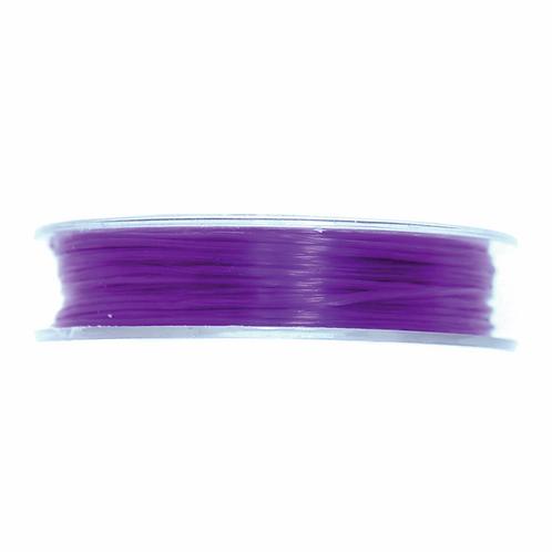 Spandex Elastic Purple 5m x 0.4mm CF01/55129