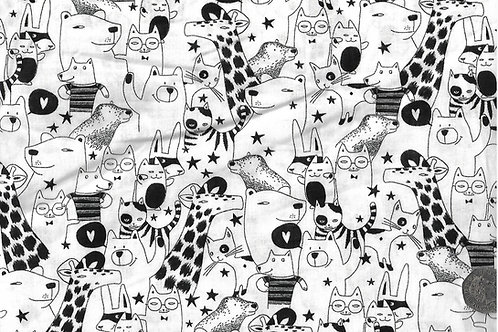 Animals - Black & White A0732 Nutex