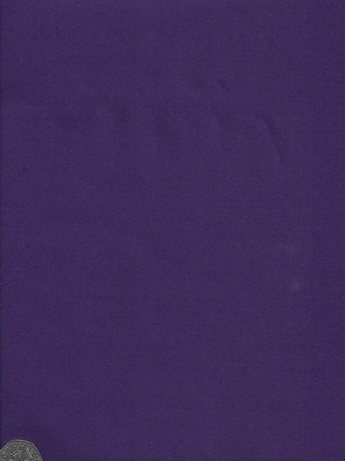 Dark Purple Cotton A0559