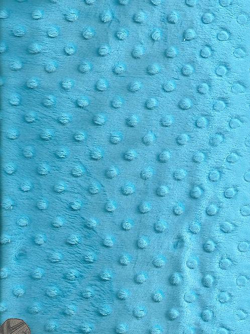 Bright Blue Dimple Fleece F0011