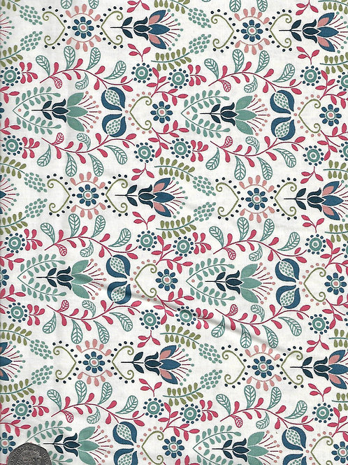 Home Sweet Home - Floral A0761 Lewis & Irene