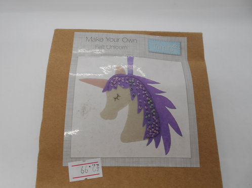 Make Your Own Felt Unicorn K0016 Trimits