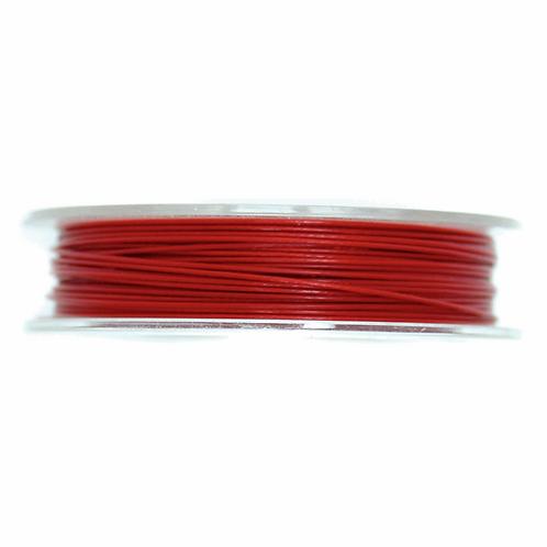 Steel Wire Red 5m x 0.45mm CF01/55203