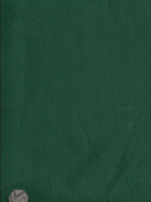 Forest Green Plain 2.8M Wide Cotton A0842 Nutex