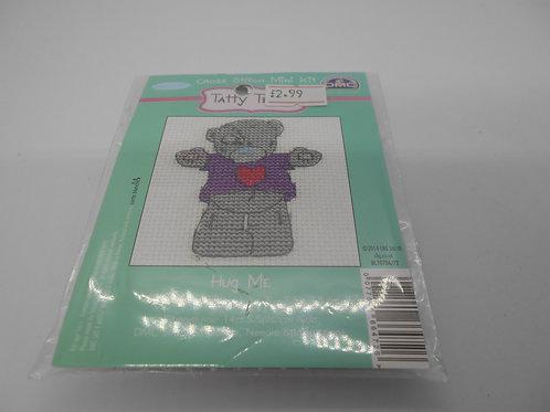 Mini Cross Stitch - Tatty Teddy - Hug Me