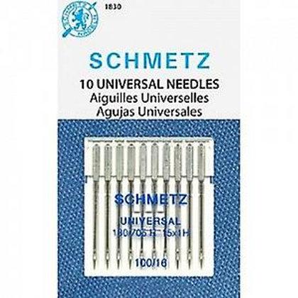 Schmetz Universal 10pk  100/16
