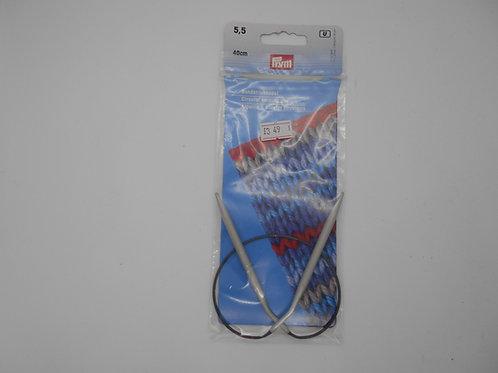 Circular Knitting Pin 5.5mm Prym 211360