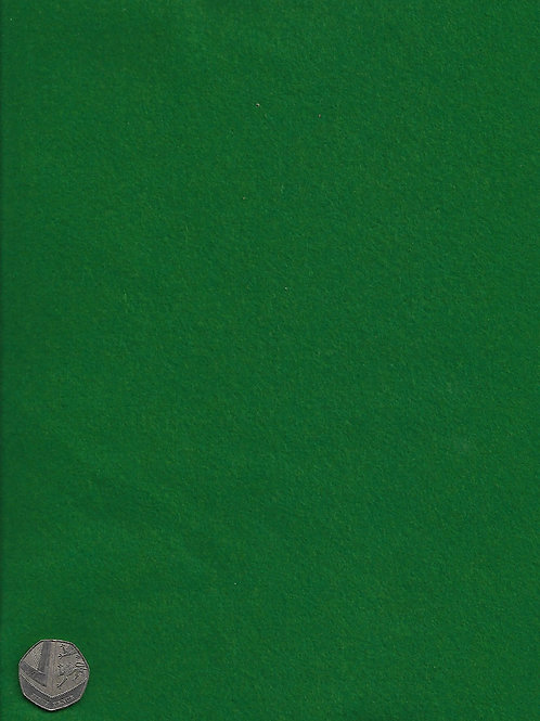 Emerald Green Felt Square