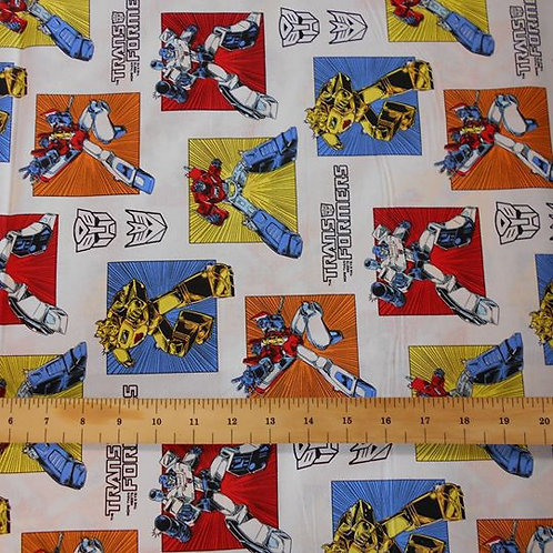 Transformers on White Nutex A0128