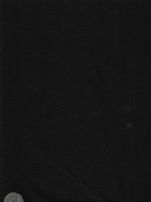 Black Cotton Sateen A0556