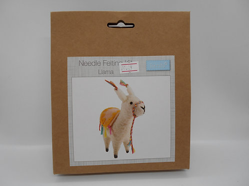 Needle Felt Kit Llama K0024 Trimits