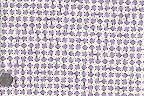 Purple & Mauve Sunburst Dots A0150