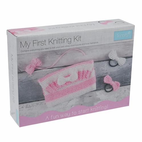 My First Knitting Kit Trimits