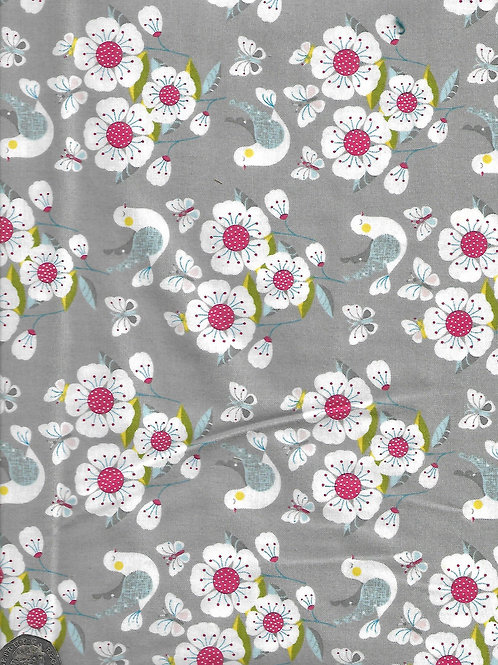 Meadow - Scenic on Grey A0660 Nutex