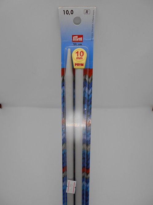 Knitting Needles 10mm x 35cm Prym 218221
