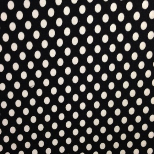 Black With White Dots A0068 Nutex