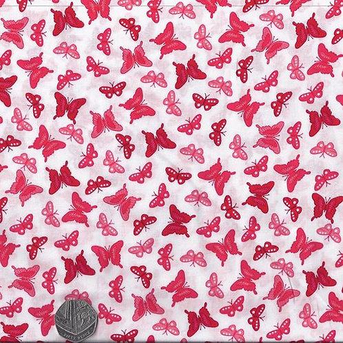 Red & Pink Butterflies A0508