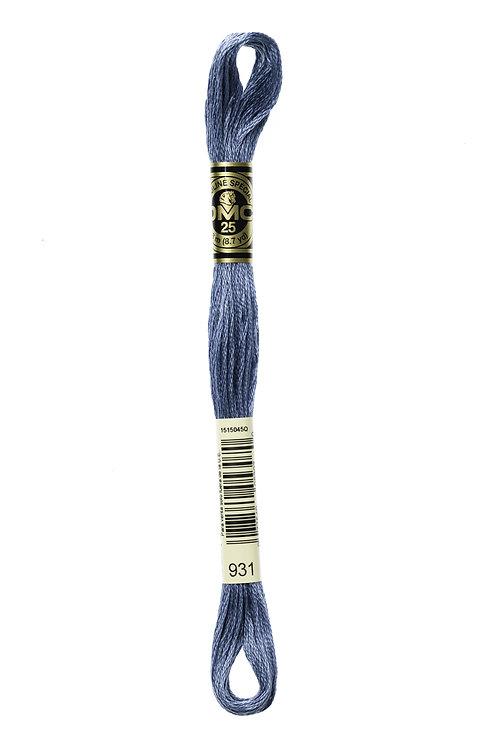 DMC Stranded Embroidery Floss col 931