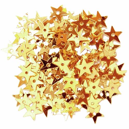 5mm Star Sequins Gold CF01/01502