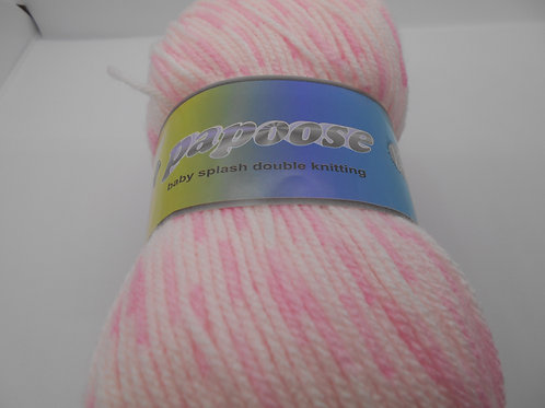 Teddy Papoose Baby Dk col 5010 Pink 100g