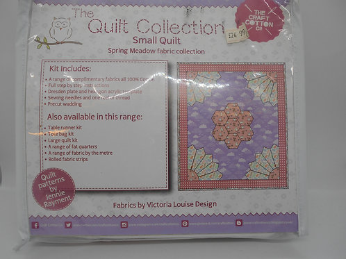 Spring Meadow (Purple) Quilt Kit - K0033 The Craft Cotton Co.