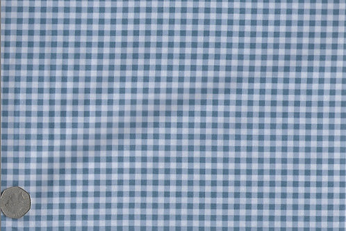 Blue Gingham A0176