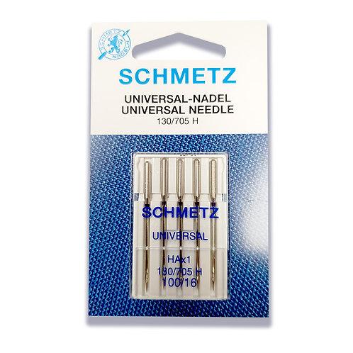 Schmetz Universal 5pk  100/16