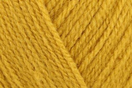 James C Brett Top Value DK col 8467 Mustard 100g