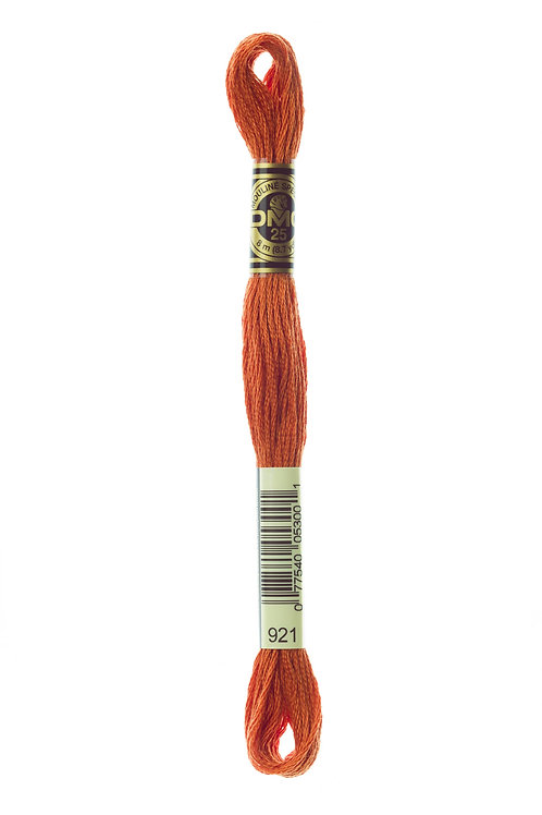 DMC Stranded Embroidery Floss col 921