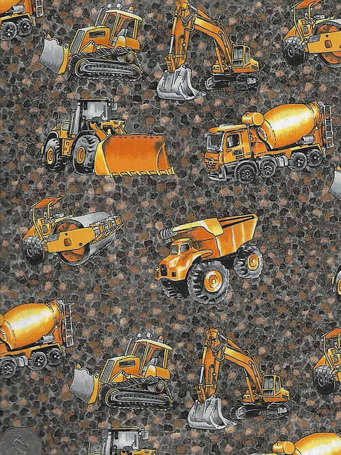 Truckers & Diggers - Scattered A0474 Nutex 80110 102