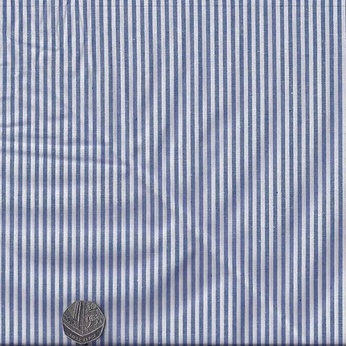 Blue & White Stripes A0509