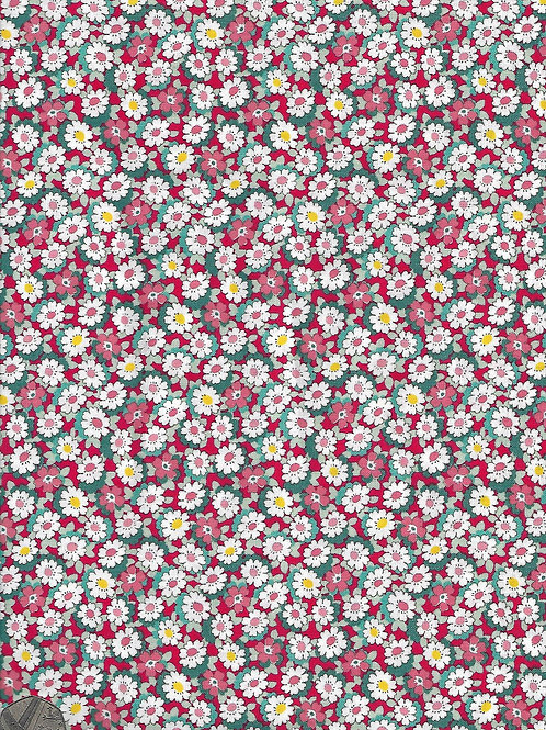 Flowers on Red A0362 Nutex 21610 109