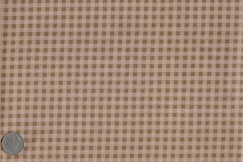 Brown Gingham A0177