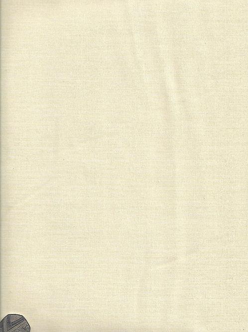 Cream Plain 2.8M Wide Cotton A0840 Nutex