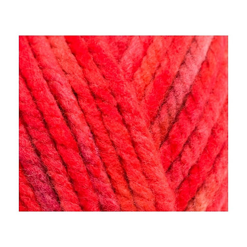 Patons Fab Big Colour col 0085 Red Mix 200g