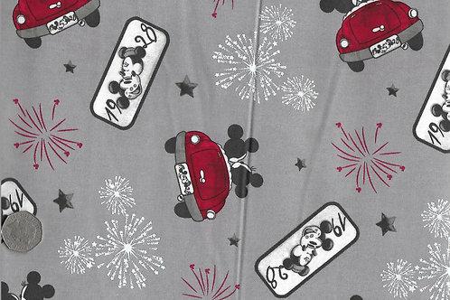 Mickey & Minnie Car Nutex A0025