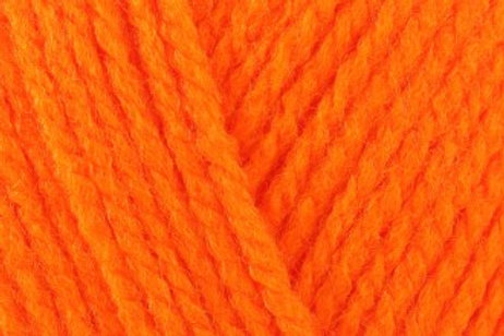 James C Brett Crafter DK col CT19 Orange 50g
