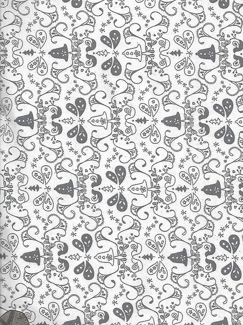 Grey & Cream Bells C0031