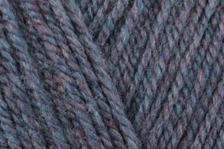 James C Brett with Wool Aran 400g 4AR84 Blue Heather