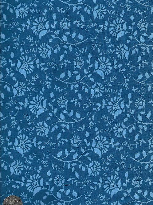 Floral - Blue A0781 Nutex
