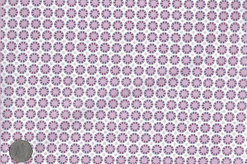 Pink & Purple Sunburst Dots A0141 Gutermann
