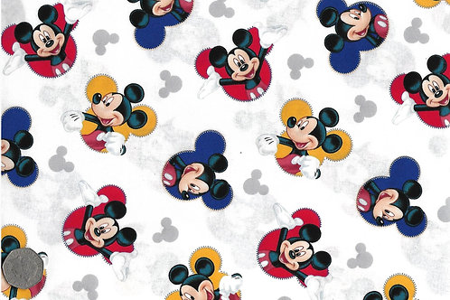 Mickey Mouse White Nutex A0026