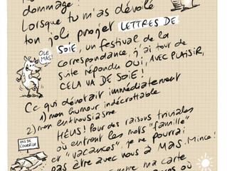 Une correspondance illustrée de Chappatte