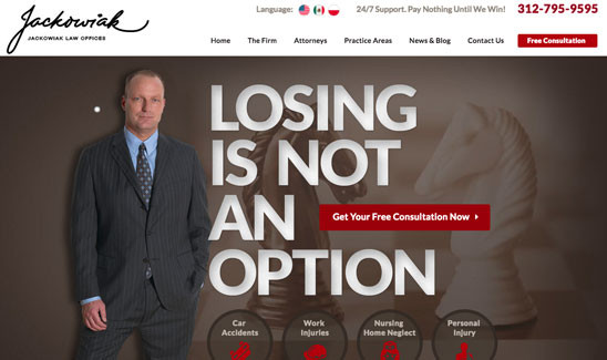 home page law firm