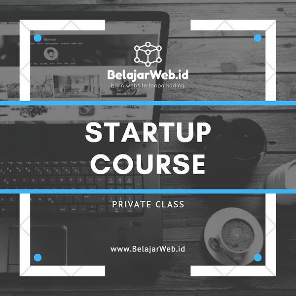 BelajarWeb COVER Startup Course Class Pr
