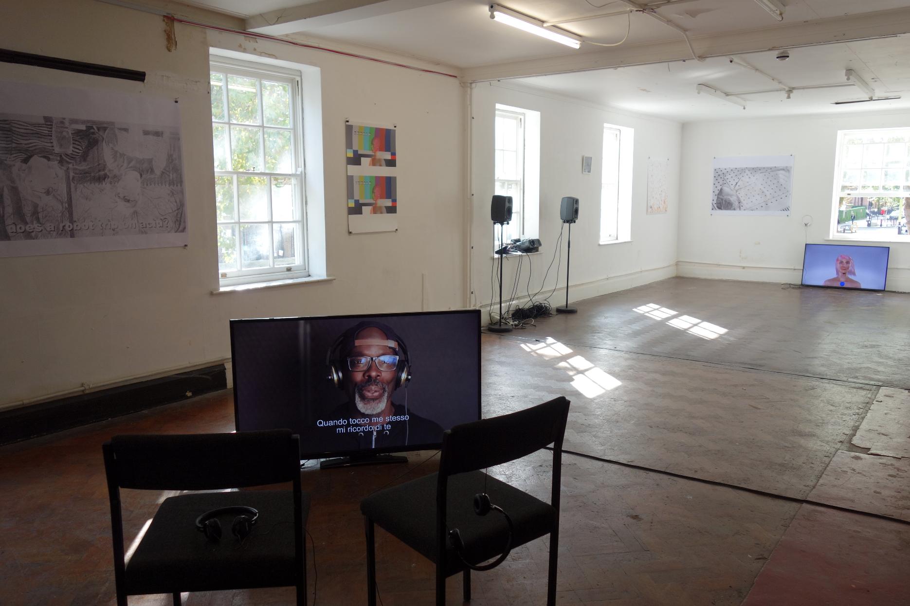 solo show @ Chalton Gallery