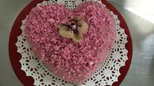Valentine Heart Cake