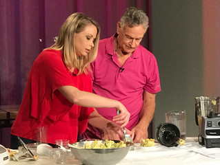 """The Joy if Healthy Eating"" premiers tomorrow, Tuesday 10/17 at 7:30 pm on AIBTV.com"