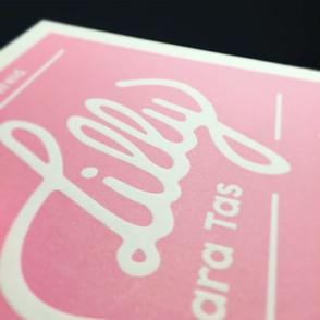 Geboorte kaartje Letterpress